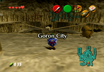 Goron City Title Screen