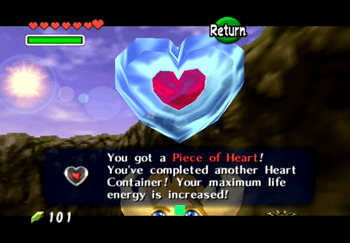 Piece of Heart in Zora's River