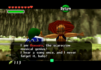 The Scarecrow (Bonooru) the musical genius