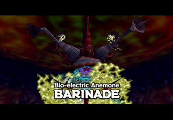Barinade Bio-electric Anemone title screen