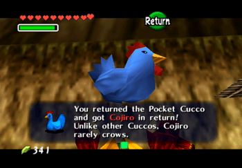 Obtaining Cojiro, the blue Cucco