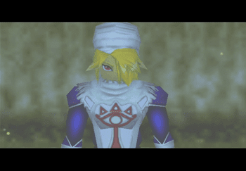 Sheik in the Sacred Forest Meadow
