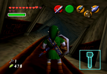 Link in the twisted corridor