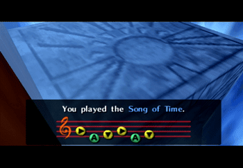 Playing the Song of Time in the Fire Temple