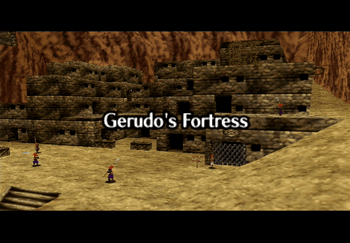 The Gerudo's Fortress title screen