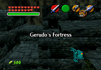Exiting and reentering the Gerudo Fortress