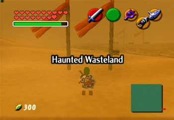 Entering the Haunted Wastedland Title Screen