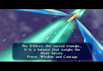 The story about the Triforce