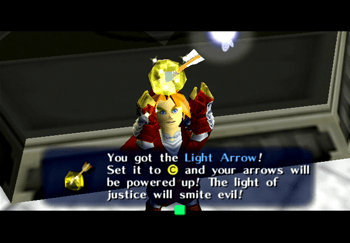 Link obtaining the Light Arrows