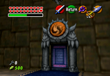 The entrance to the Orange / Spirit Trial