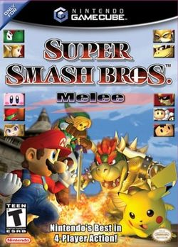 Super Smash Brothers Melee Cover Art