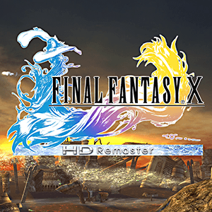 Opening screen of the Final Fantasy X HD Remaster remake