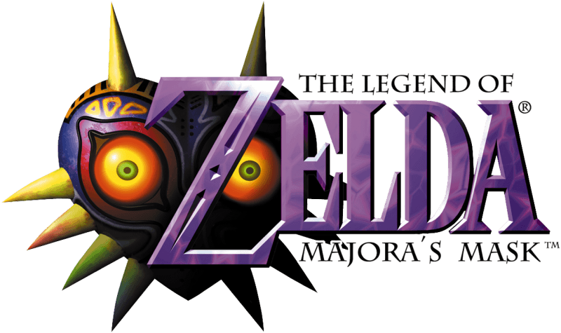 Legend of Zelda: Majora's Mask Logo