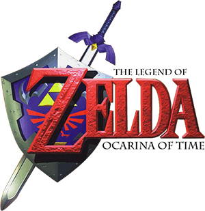 Legend of Zelda: Ocarina of Time Logo